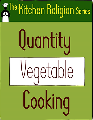 Quantity Vegetable Cooking