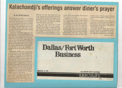 Dallas-Ft.Worth Business, 1983