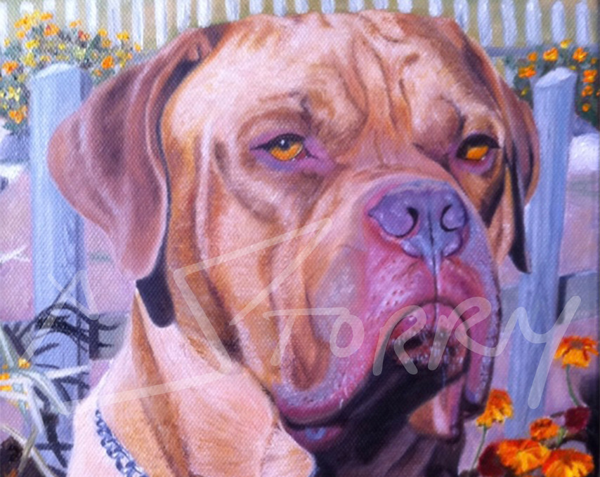 Private commissioned portrait