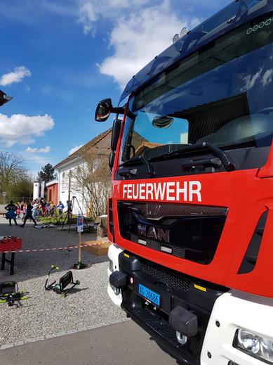 Feuerwehrauto an der KiTeWo2018