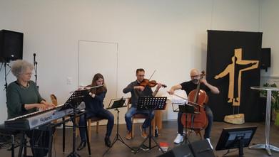 Kleines Adhoc-Orchester :)