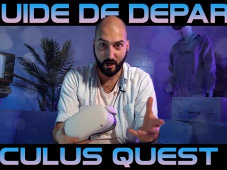Guide de départ Oculus Quest 2