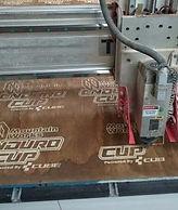 grabado de madera por CNC en Chile