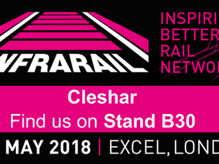 We are at Infrarail!
