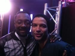 Backstage with Will.I.Am @ The Voice