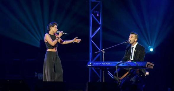 Diana Rouvas and C Major Live