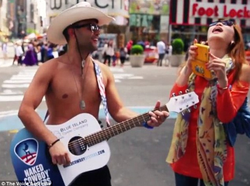 The Naked Cowboy NYC