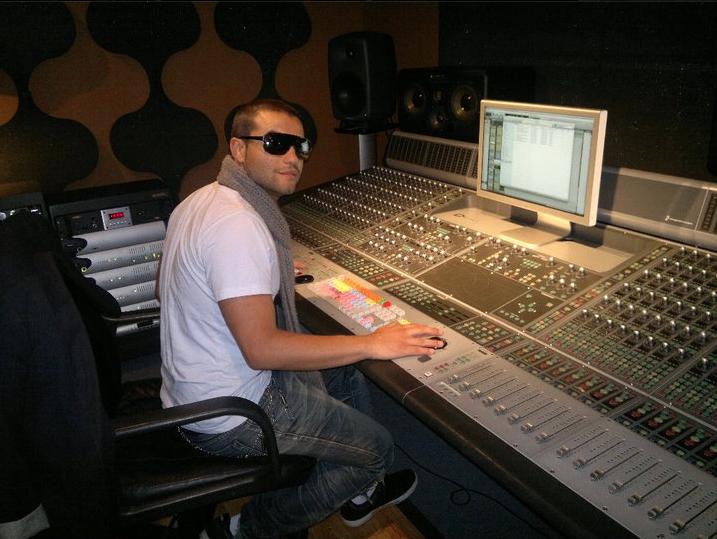 Rockin the studio in Miami