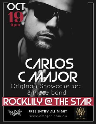CARLOS C MAJOR ORIGINALS SHOWCASE AT THE STAR CASINO  SATURDAY 19th OCTOBER