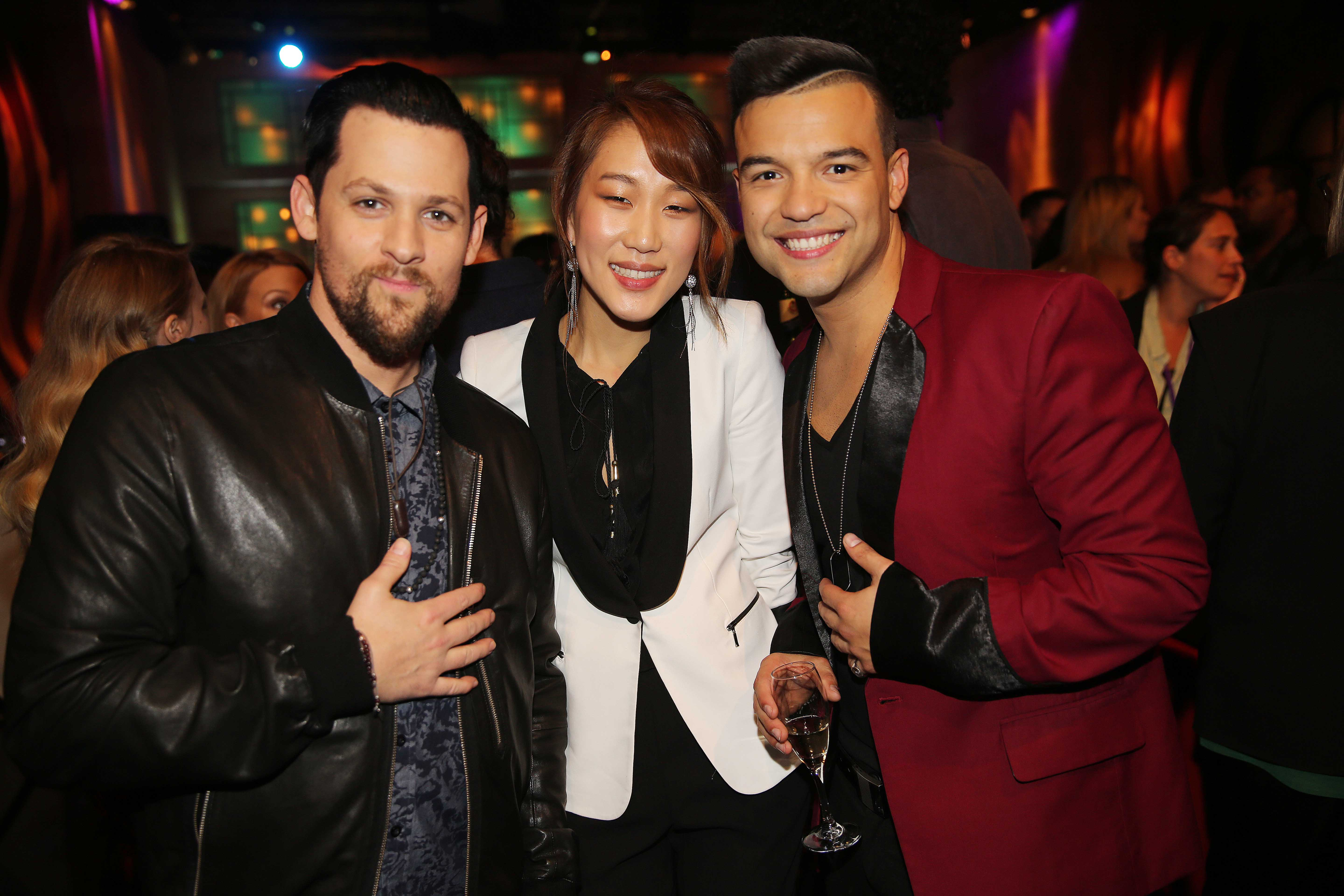 with Joel Madden and Elly Oh