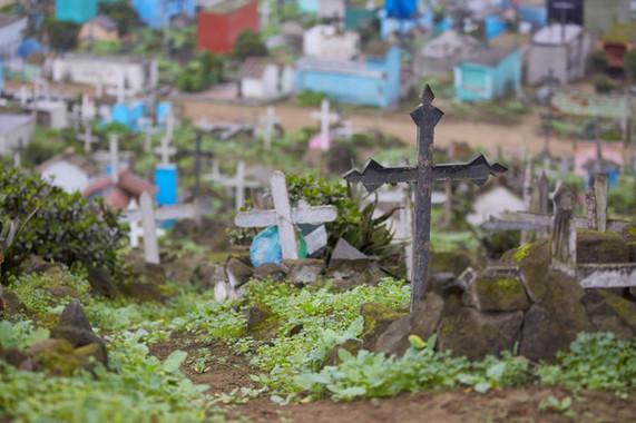 Cementerio Nueva Esperanza - Villa María del Triunfo. 2015. Lima, Perú