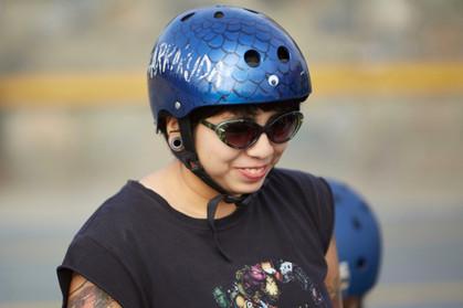 Toxic Lima. Roller Derby. Lima, Perú