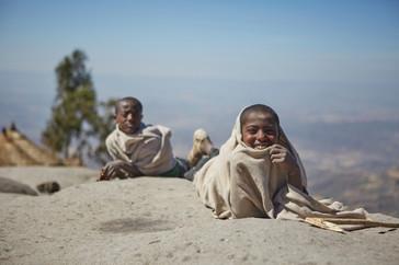 Lalibela. Etiopía.