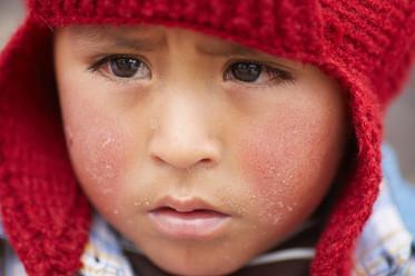 Niño en la Oroya, Junín. Perú