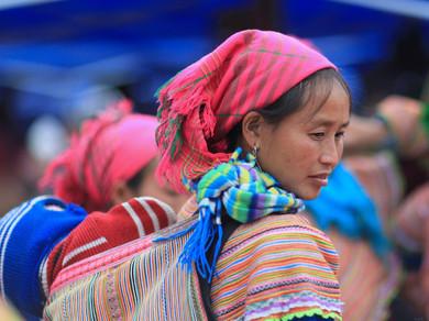 Mercado Bac Ha. Sapa. Vietnam.