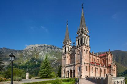 En Covadonga, Cangas de Onís. En los Picos de Europa - España