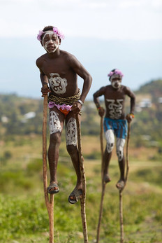 Niños Banna. Valle del Omo. Etiopía