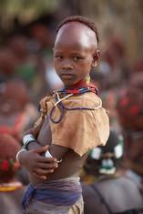 Tribu de los hamar. Valle del Omo. Etiopía
