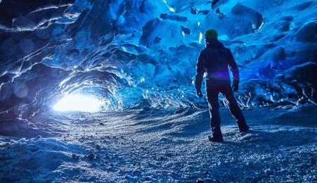 Islandia - Cueva de hielo.