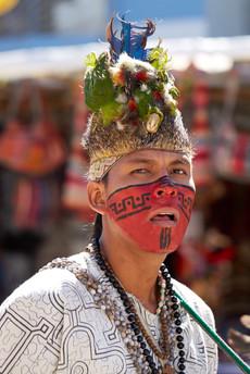 Músico en Muruhuay