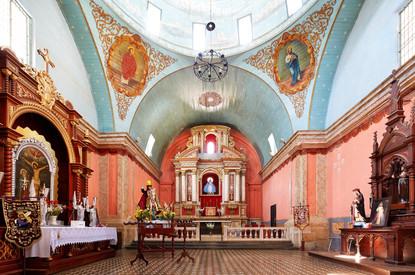 Iglesia de Lunahuaná. Lima,Perú.