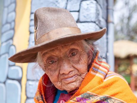 Vendedora. Huaraz. Perú. 2016