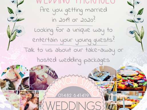 Keeping young wedding guests happy!