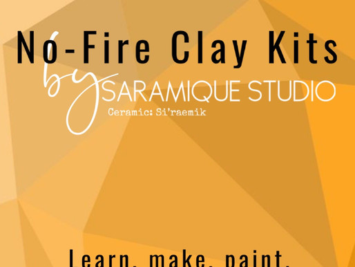 No Fire Clay Kits by Saramique Studio