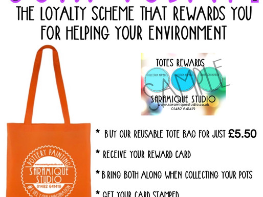 Tote rewards!