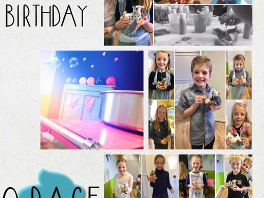 Happy 8th birthday Grace