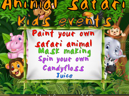 Animal Safari Summer Fun!