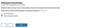 W-4 Form Withholding Estimator Deductions