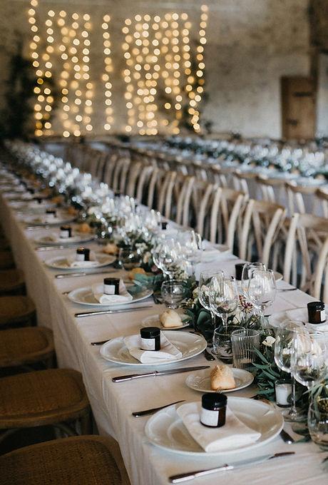 웨딩 테이블 세트