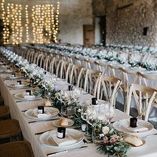 Hochzeitsloaction mit Dekoration Rieke Richter Weddings Hochzeitsplaner