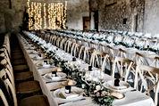 Conjunto tabla de la boda