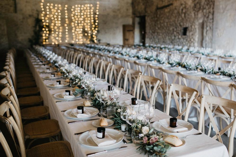 Conjunto mesa boda