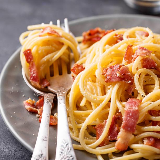 Pasta Carbonara (Børneret)