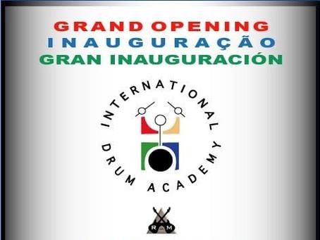 10 Anos de 'International Drum AcADEmy', espaço musical idealizado para a criatividade e disciplina