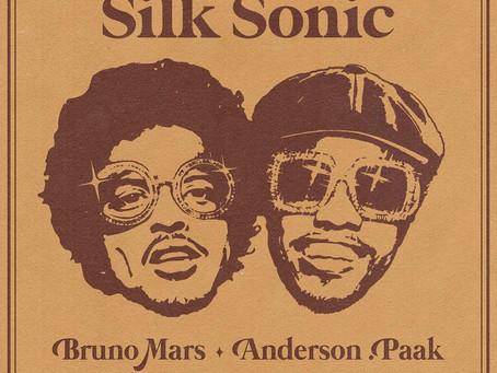 """""""Silk Sonic"""" a nova banda de Bruno Mars que incluí Anderson Paak na formação"""