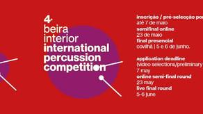 Já é conhecido o painel de jurados do concurso internacional de percussão da beira interior