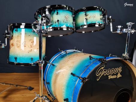 "Groove Drum Co., 20x20"" Mahogany Birch Bass Drum"