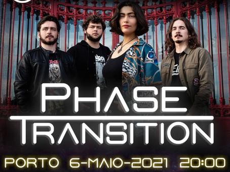 Phase Transition + King Baal ao vivo no hard club dia 6 de Maio