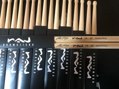 7A-AT, o regresso do Modelo da marca portuguesa Raj Drumsticks