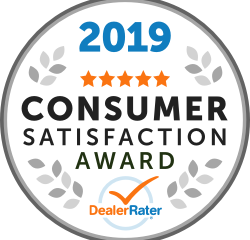 Dealerrater 2019 Consumer Satisfaction Award for Toy Barn