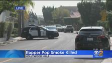 RAPPER POP SMOKE KILLED