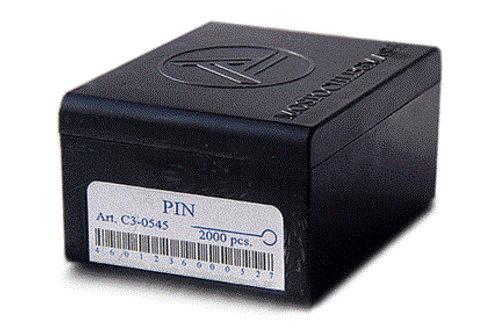 Булавка тип 1-30 1/2000, длина 30 мм, толщина 0,55 мм
