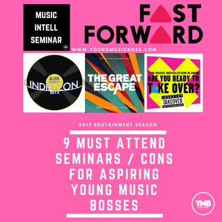 9 Must Go To Music Seminars.