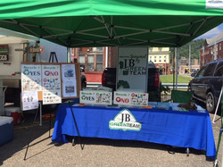 8.3.19 Big Green Event Booth
