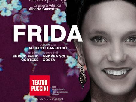 Il ritratto danzato di Frida Khalo debutta il 26 marzo al teatro Puccini di Firenze.