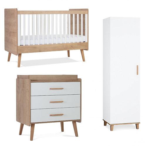Silver Cross Westport 3 Piece Nursery Furniture Set